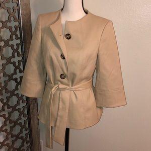 Classiques entier Size 6 tan jacket